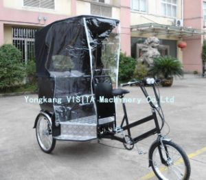Electric Power Rickshaw with MP3 Music pictures & photos
