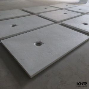 Artificial Stone Solid Surface Shower Tray/ Acrylic Stone Shower Base pictures & photos