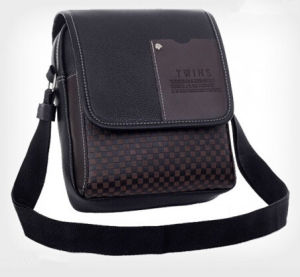 2015 Latest Styles Men PU Leather Shoulder Bag (54087) pictures & photos