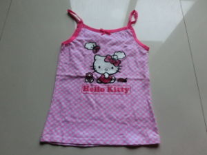 Customized Little Girls Good Quality Tank Top