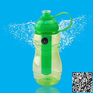 600ml sports water bottle with compass, plastic sport bottle, water bottle BPA free pictures & photos