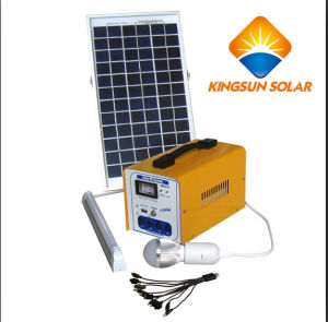 30W Small Home Solar Power Lighting System pictures & photos