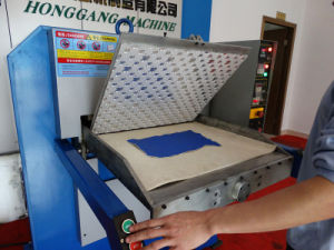 Textile Leather Embossing Machine (HG-E120T) pictures & photos