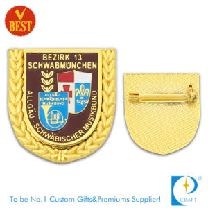 Wholesales Customized Branded Publicity Imitation Enamel Souvenir Metal Pin Badge pictures & photos