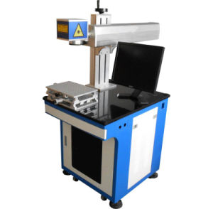 Multifunctional Color Optical Fiber Laser Marking Machine for Wire pictures & photos