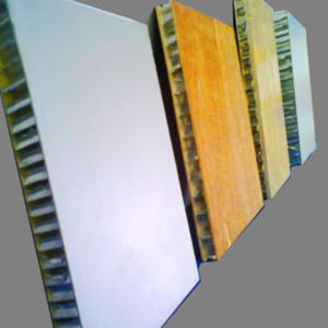 Mill/ Roller Coating Surface Aluminum Honeycomb Panels for Furniture pictures & photos