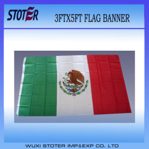 Custom Polyester Mexico Nation Flag/Banner pictures & photos