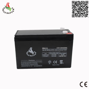 12V 6A AGM Rechargeable Sealed Lead Acid Mf Battery