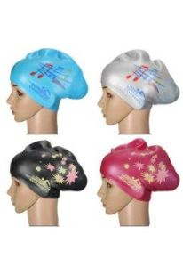 Silicone Swimming Cap for Long Hair pictures & photos