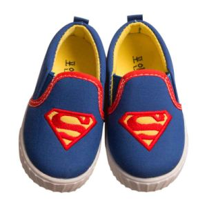 Superman Pattern Flat Vulcanized Casual Private Label Canvas Shoes pictures & photos