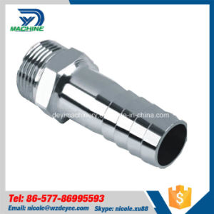 "1/4"" Stainless Steel Sanitary NPT Hex Hose Coupling pictures & photos"