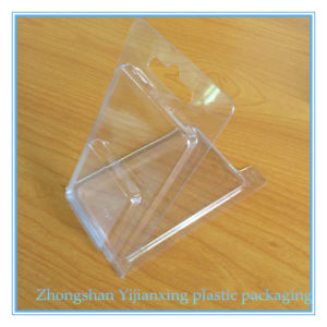 Plastic PVC Clam Shell Packages with Hanger Hole