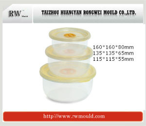 Plastic Round Shape Food Container Mould