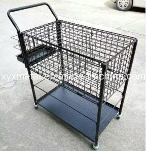 Customized Sport Tennis Ball Metal Storage Basket Carts pictures & photos