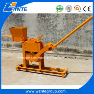 Wt1-40 Manual Brick Making Machine with Low Price pictures & photos