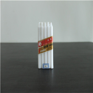 10g 1.2X10cm Cheap Price Household White Candles pictures & photos