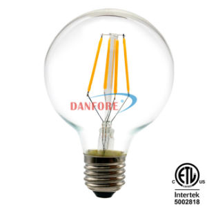 LED Filament Light Lamp G40 G125 3.5W 5W 6.5W AC120V AC220V E27 Edison B22 Filament LED Bulb