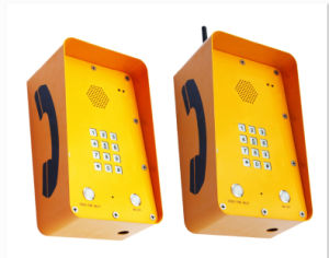 Outdoor Waterproof Solar Charged Sos Telephone for Roadside Project pictures & photos