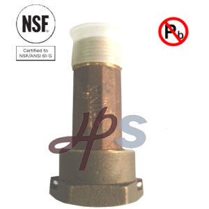 Lead Free Brass Water Meter Coupling with NSF61 Certificate pictures & photos