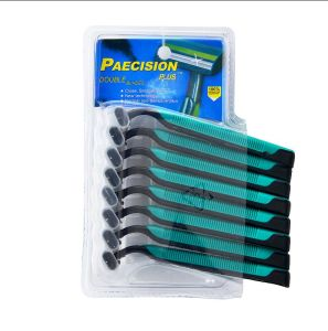 8PC Double Blister Card Packaging Triple Blade Disposable Razor (PK-09)