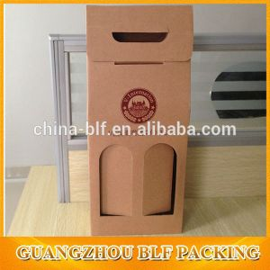 High Quality PVC Window Kraft Package Paper Bag (BLF-PB267) pictures & photos