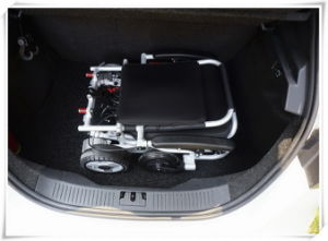 Tiny 5 Foldable and Portable Electric Wheelchair pictures & photos