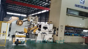 Automation Machine Nc Servo Straightener Feeder and Uncoiler Make Material Straightening pictures & photos