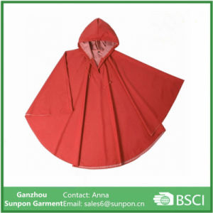 Adult Long Raincoat Solid Colors Poncho pictures & photos