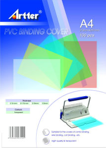 PVC Binding Cover pictures & photos