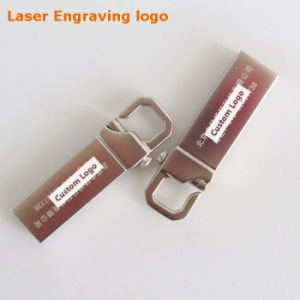 8-64GB Custom Logo Metal Hook USB3.0 Flash Drive (YT-3258-03) pictures & photos
