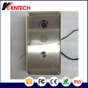 Knzd-47 SIP Video Door Phone with One Button and Camera pictures & photos