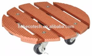 WPC Wood Plastic Composite Plant Dolley Trolley pictures & photos