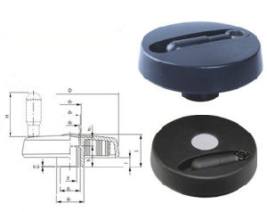 Plastic Plane Hand Wheel for Many Machine pictures & photos