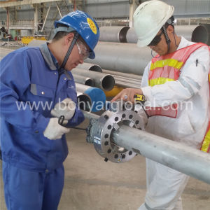 Od Mounted, Pipe Cutting and Beveling Machine with Hydraulic Motor (SFM0408H) pictures & photos