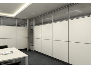 Custom Workshop Office Partition Aluminium Wall Easy Soundpfoof Curtains pictures & photos