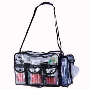 China Bag Wholesale Transparent Clear PVC Lady Cosmetic Bag pictures & photos