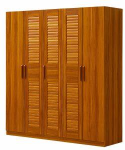 5 Doors Wardrobe High Quality Bedroom Wardrobe pictures & photos