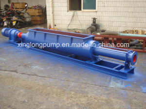 Xinglong Open Hopper Single Screw Pump with Bridge Breaker for Material with Low Water Content pictures & photos