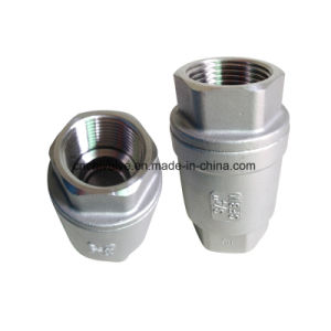 H12 Stainless Steel Vertical Spring Loaded Check Valve pictures & photos