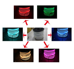 Pink 10*24mm 24V LED Mini Neon Flexible Light pictures & photos