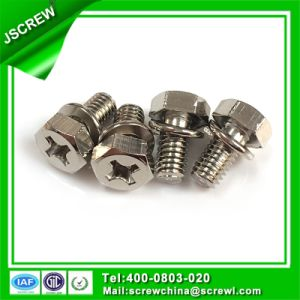 Stainless Steel 8#*20 Hex Head Sem Screw pictures & photos
