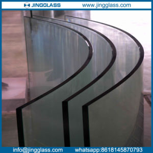 Custom Tempered Curved Laminated Glass Balustrade pictures & photos