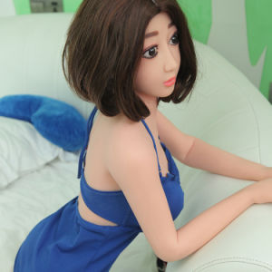 Small Breast Silicone Sex Doll with TPE Metal Skeleton pictures & photos