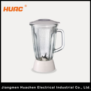 Blender Glass Cup with Stainless Steel Blade 1.0L