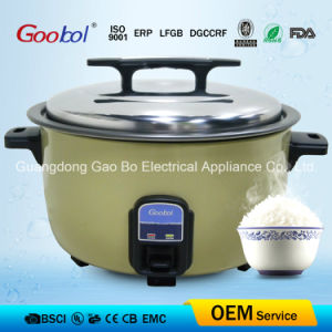 Hot Sale Golden Color Big Rice Cooker with Big Handle pictures & photos