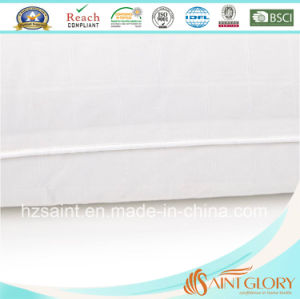Hot Sale White Pillow Protector Pure Cotton Pilloe Case pictures & photos