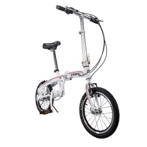 16 Inch Small Wheel Folding Bicycle with Comfortable Bicycle Saddle pictures & photos