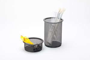 Cheap Office Stationery/ Metal Mesh Stationery Pencil Holder/ Office Desk Accessories pictures & photos
