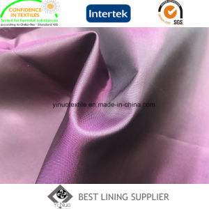 100% Polyester Two Tone Cationic Taffeta Lining pictures & photos