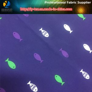 Fish Printing of Polyester Micro Fiber Woven Fabric for Beachwear (YH2145.2146) pictures & photos